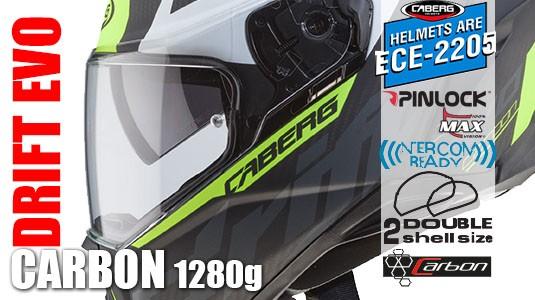 Drift Evo Carbon 1280g