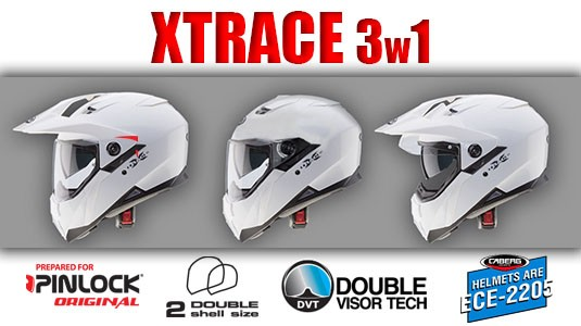 Caberg Xtrace 3in1